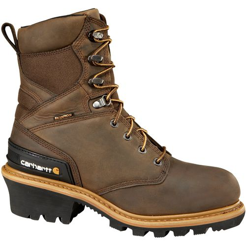 Carhartt Men's 8 in Composite Toe Logger Work Boots - view number 1