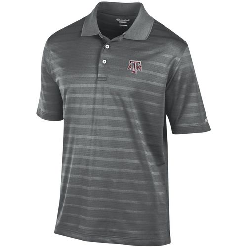 Champion Men's Texas A&M University Textured Polo Shirt