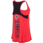 5th & Ocean Clothing Women's Atlanta Falcons Glitter Tank Top - view number 2