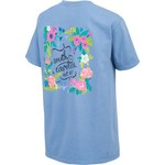 New World Graphics Women's University of South Carolina Comfort Color Circle Flowers T-shirt - view number 2