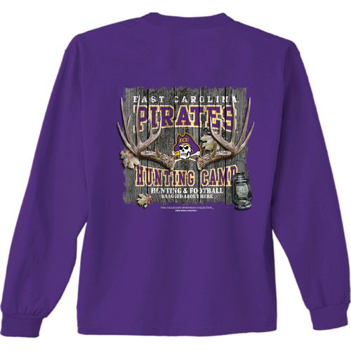 New World Graphics Men's East Carolina University Hunt Long Sleeve T-shirt