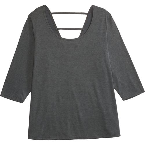 BCG Women's Strappy Back Plus Size 3/4 Sleeve T-shirt - view number 4