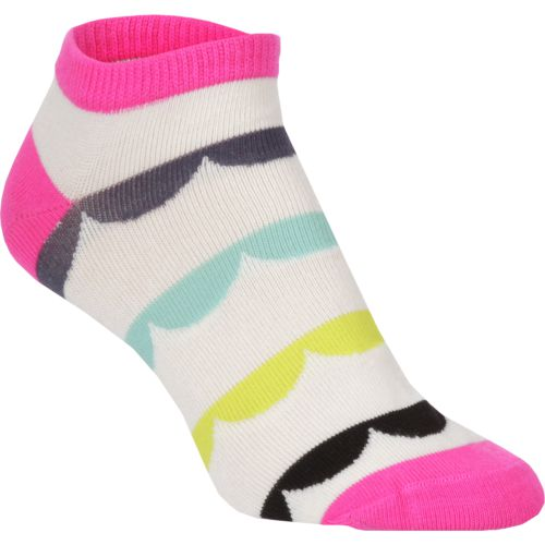 BCG Women's Bright Scallop Fashion Socks 6 Pairs