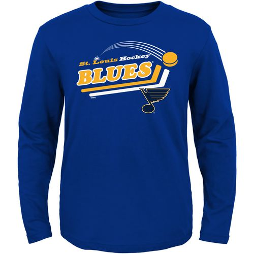 NHL Toddlers' St. Louis Blues Pucks Away Long Sleeve T-shirt