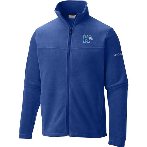 Columbia Sportswear Men's University of Memphis Flanker Full Zip Fleece