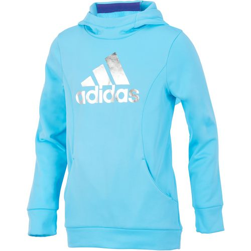 adidas Girls' Performance Hooded Sweatshirt