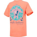Simply Southern Women's Sea Turtle Short Sleeve T-shirt - view number 2