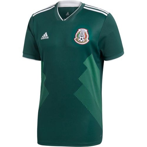Display product reviews for Adidas Men's 2018 Mexico Home Replica Jersey