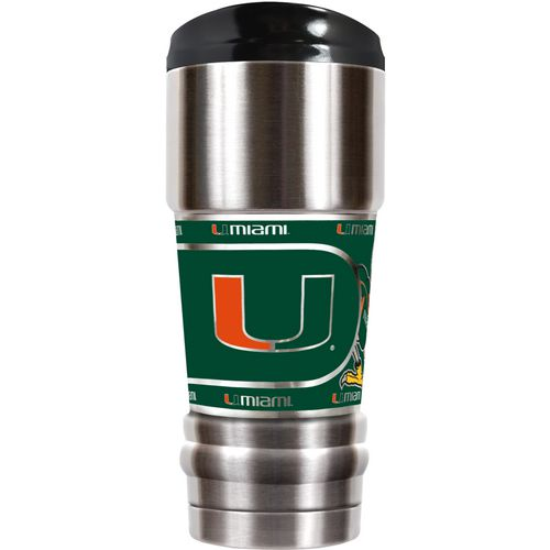 Great American Products University of Miami MVP 18 oz Travel Tumbler