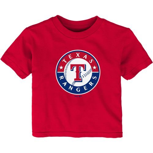 MLB Infants' Texas Rangers Primary Logo T-shirt
