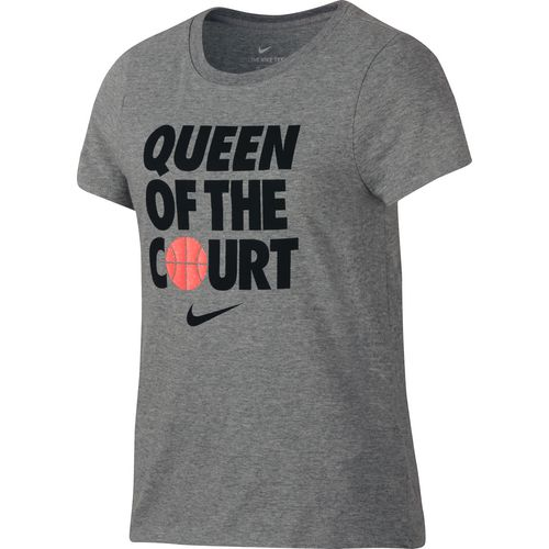 Nike Girls' Dry Queen of the Court Basketball T-shirt