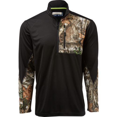 Display product reviews for Magellan Outdoors Men's Hunt Gear 1/4 Zip Camo Shirt