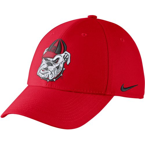 Nike Men's University of Georgia Dri-FIT Wool Classic99 Swoosh Flex Cap