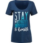 Soffe Women's Stay Motivated, Focused and Humble T-shirt - view number 1