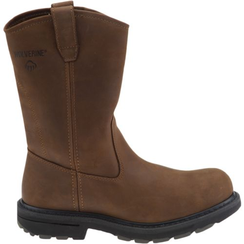 Wolverine Men's Dual Density Wellington Work Boots