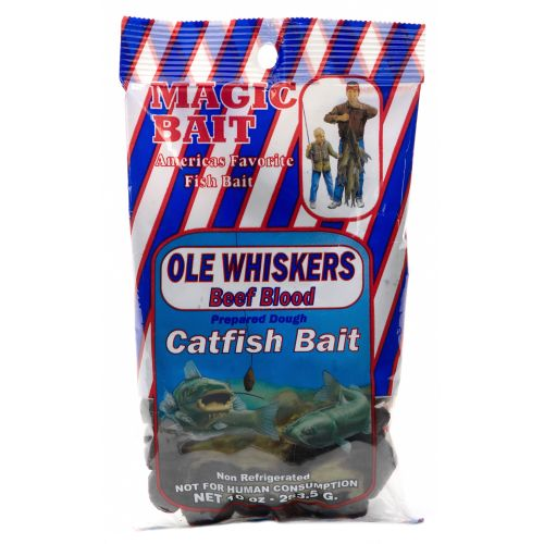 Magic Bait Ole Whiskers 10 oz. Beef Blood Catfish Bait