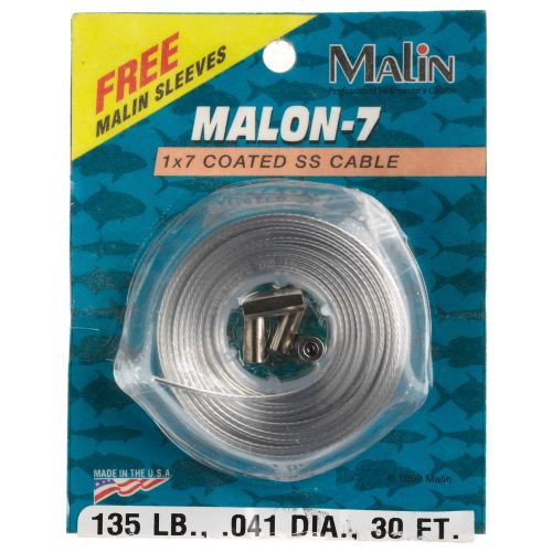 Display product reviews for Malin Malon 7 30 ft Stainless-Steel Leader