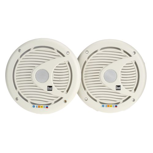 Dual 6.5' Coaxial Marine Speakers (Pair)