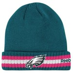 Reebok Men's Philadelphia Eagles BCA Sideline Cuffed Knit Cap