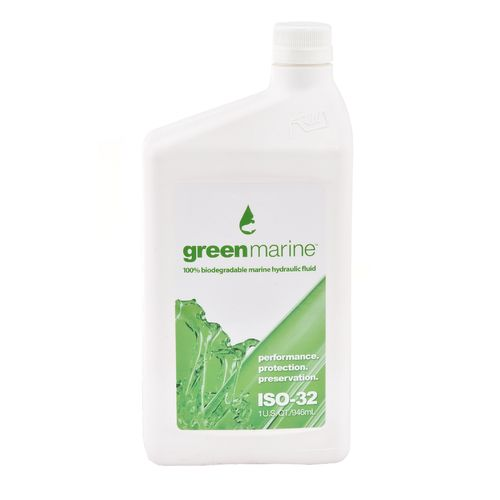 Green Marine 1 qt. ISO 32 100% Biodegradable Marine Hydraulic Fluid