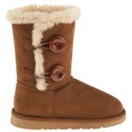Polar Edge® Girls' 2-Button Boots