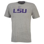 Nike Men's Louisiana State University Short Sleeve Classic Logo T-shirt