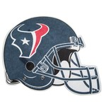 Tag Express Houston Texans Die-Cut Football Helmet Pennant