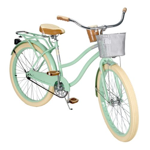 Cruiser Bikes With Baskets For Women Huffy Women s Deluxe quot