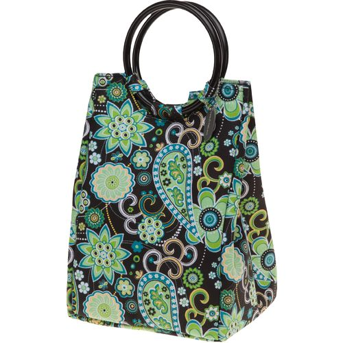 Fit & Fresh Retro Insulated Designer Bag with Ice Pack