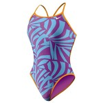 Nike Women's Graphic Leaf Lingerie Tank Swimsuit