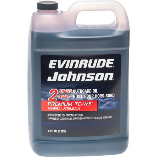 Display product reviews for Evinrude Johnson Premium TC-W3® Mineral Formula