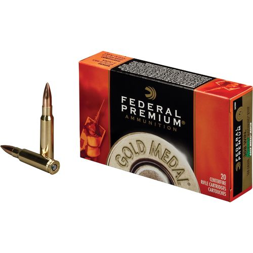 Display product reviews for Federal Premium® Gold Medal Sierra MatchKing .308 Winchester 168-Grain Centerfire Rifle Ammunit