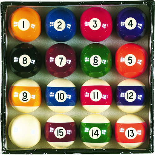 Image for FatCat Complete Billiard Ball Set from Academy