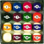 FatCat Complete Billiard Ball Set