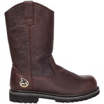 "Georgia Men's Oiler Series 11"" Steel Toe Wellington Boots"