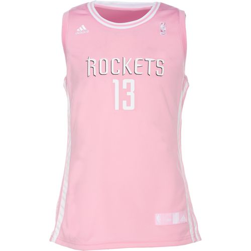 adidas™ Girls' Houston Rockets James Harden Replica Jersey