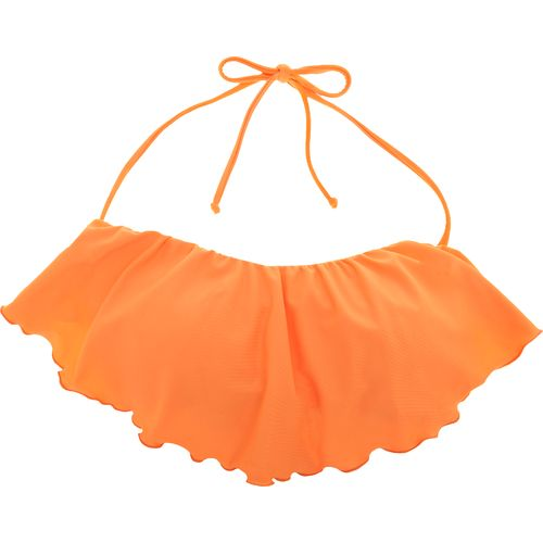 O'Neill Juniors' Solids Ruffle Swim Top - view number 1