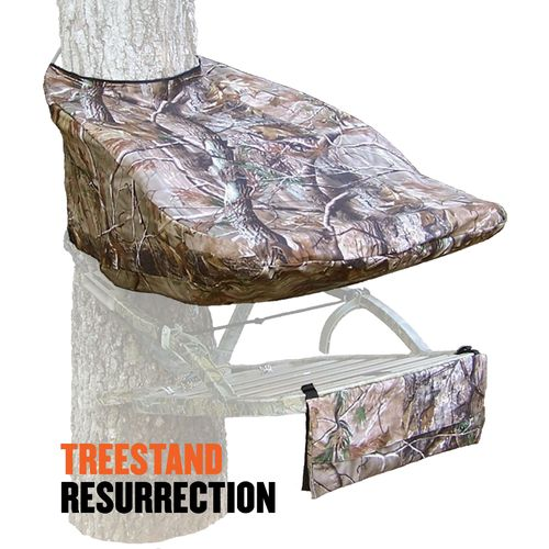 Display product reviews for Cottonwood Outdoors Weathershield Treestand Resurrection Small Treestand Cover