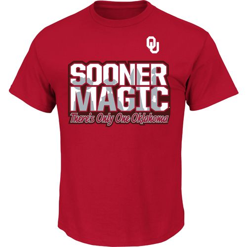 Majestic Men's University of Oklahoma There's Only One T-shirt