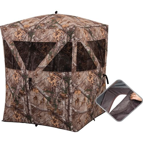 ranch blinds ground blind valley hunting buck at