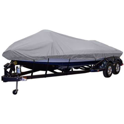 Gulfstream V-Hull Fishing Semicustom Boat Cover For Boats Up To 17'