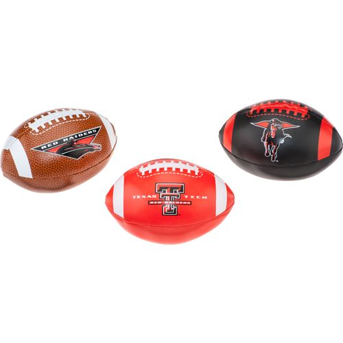 Rawlings® Texas Tech University 3rd Down Softee Footballs 3-Pack