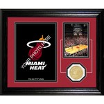 The Highland Mint Miami Heat Fan Memories Desktop Photo Mint