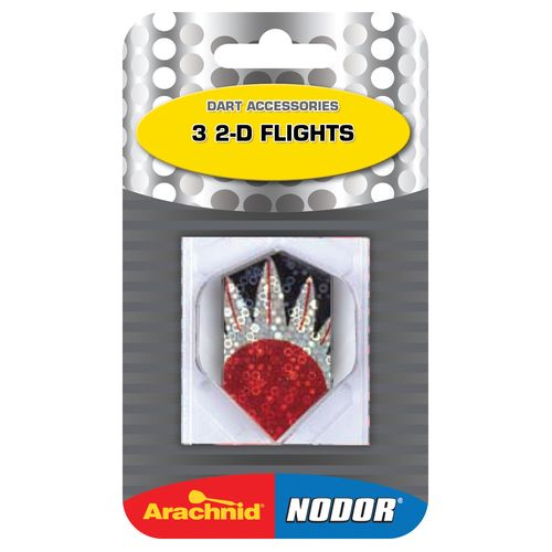 Nodor® 2-D Slim Flights 3-Pack