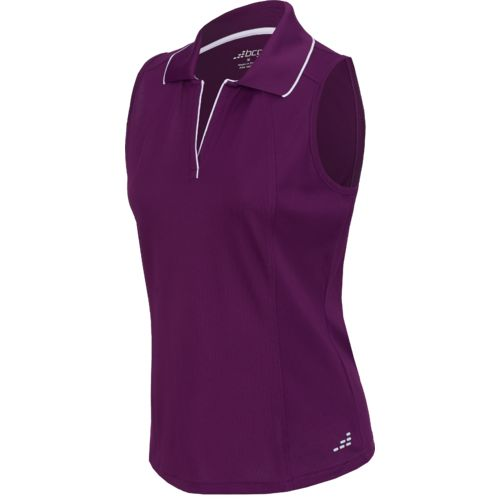 BCG™ Women's Sleeveless Tennis Polo Shirt