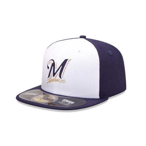 New Era Men's Milwaukee Brewers 2015 Game Diamond Era Cap