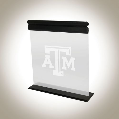 AES Optics Texas A&M University Acrylic LED Light