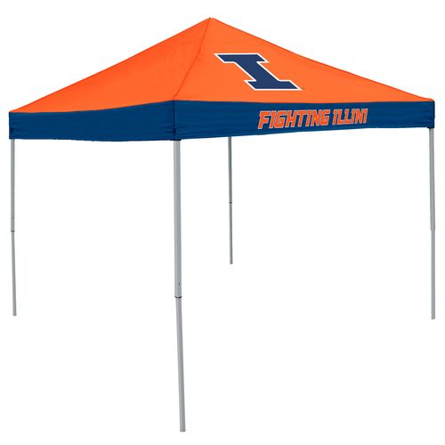 Logo™ University of Illinois Straight-Leg 9' x 9' Economy Tent