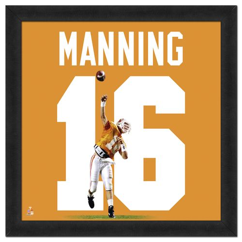 Photo File University of Tennessee Peyton Manning #16 UniFrame 20' x 20' Framed Photo