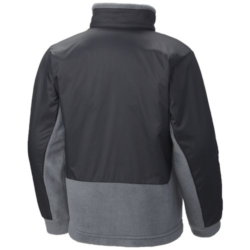 Columbia Sportswear Boys' Steen Mountain Overlay Fleece Jacket - view number 2
